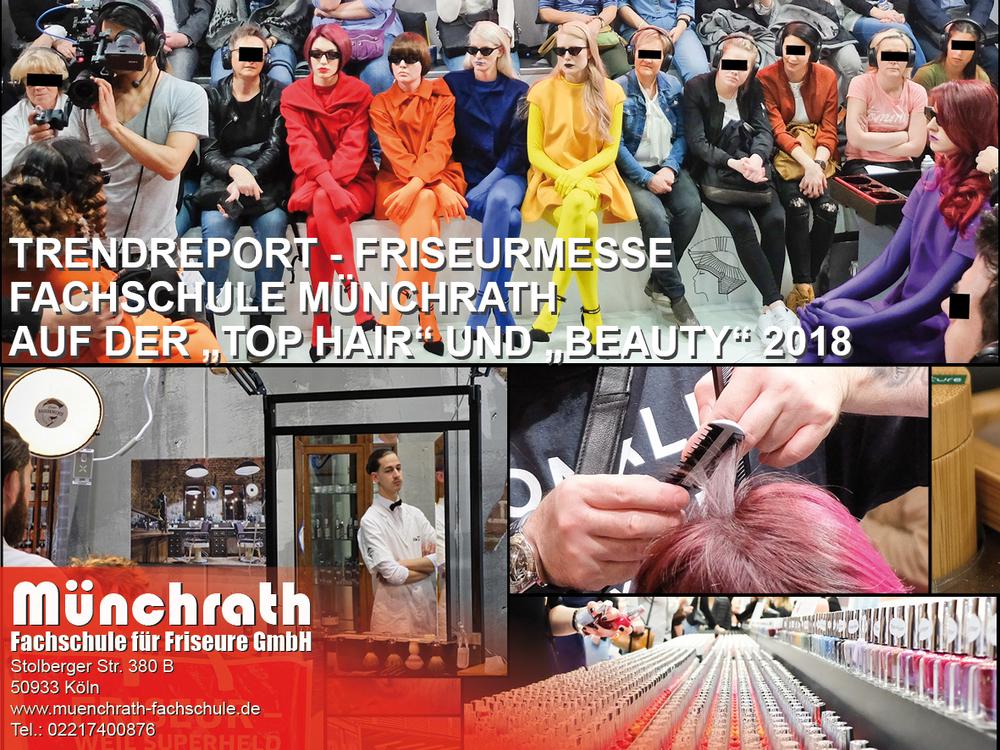 Friseurmesse Friseurmeisterschule 2018 Münchrath Fachschule für Friseure Stolberger Str 380 B 50933 Köln