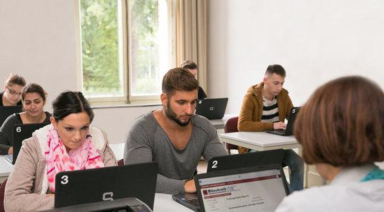 PC-Raum Friseurmeisterschule Münchrath