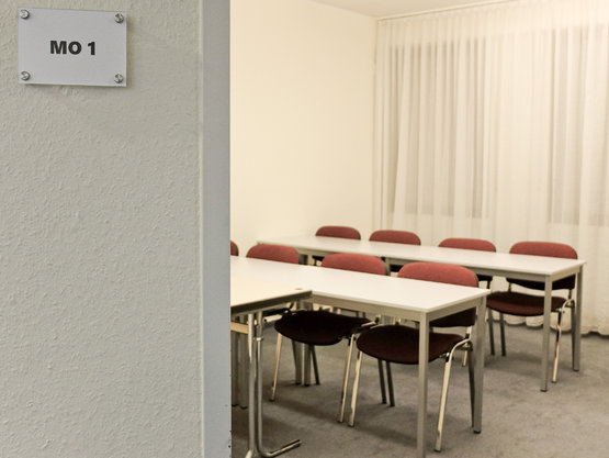 Klassenraum Friseurmeisterschule Münchrath