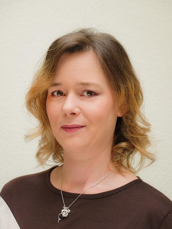Manuela Stedem, Prokuristin und Friseurmeisterin, Dozentin für die Fächer Rechnungswesen und Salonmanagement